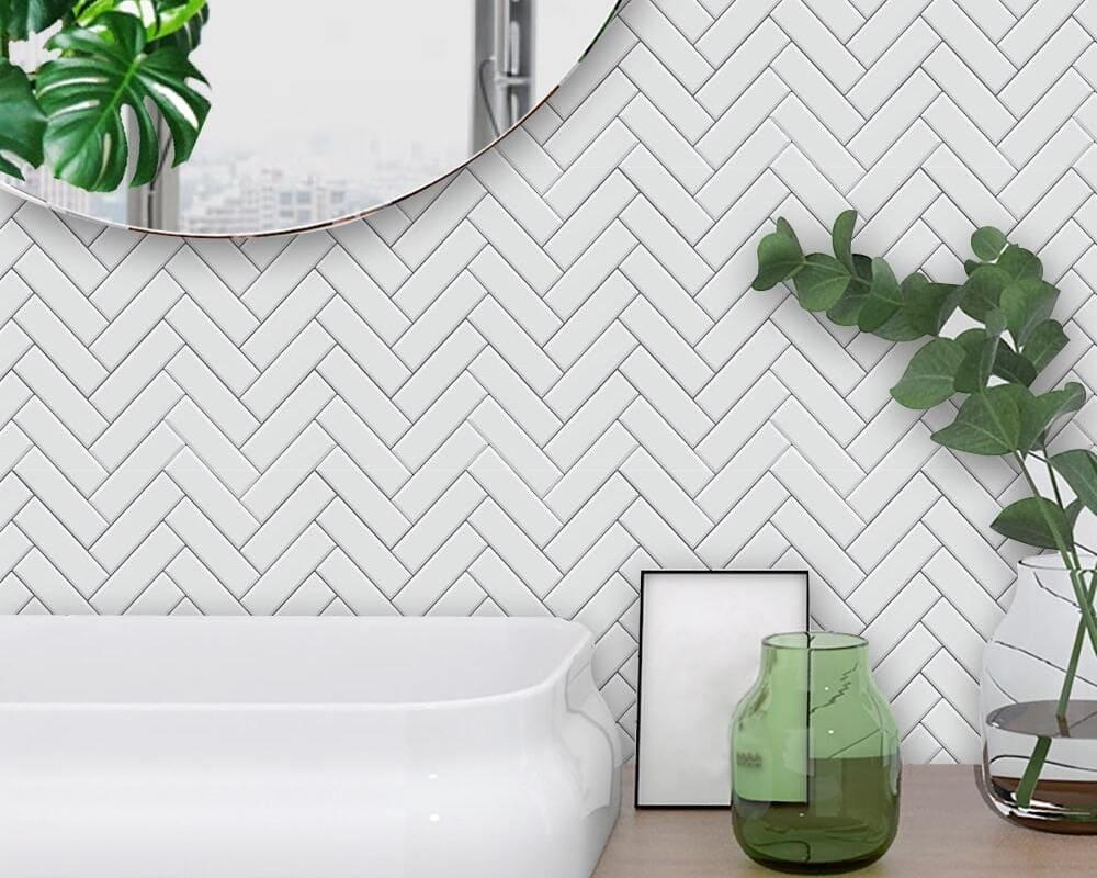 giấy dán tường phòng tắm hàn quốc