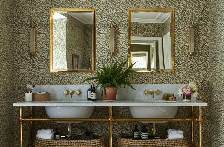 giấy dán tường phòng tắm không thấm nước nhập khẩu châu âu