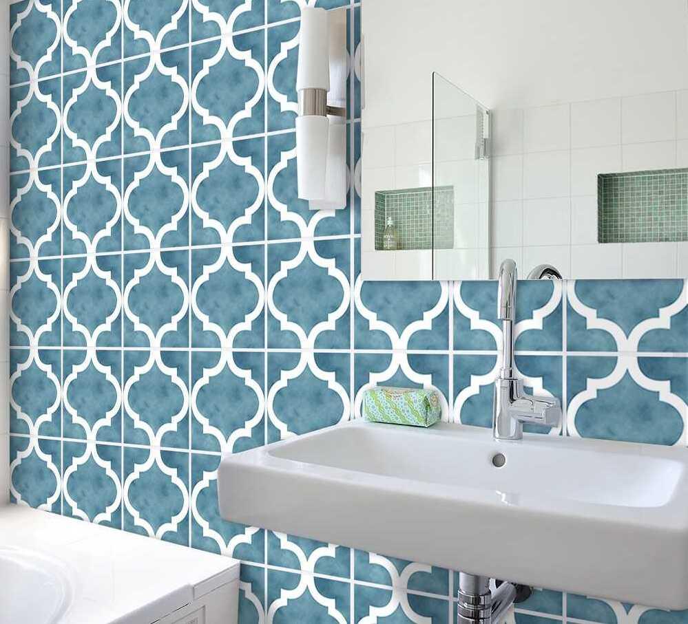 ưu điểm giấy dán tường phòng tắm