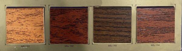 bảng màu rèm gỗ tượng