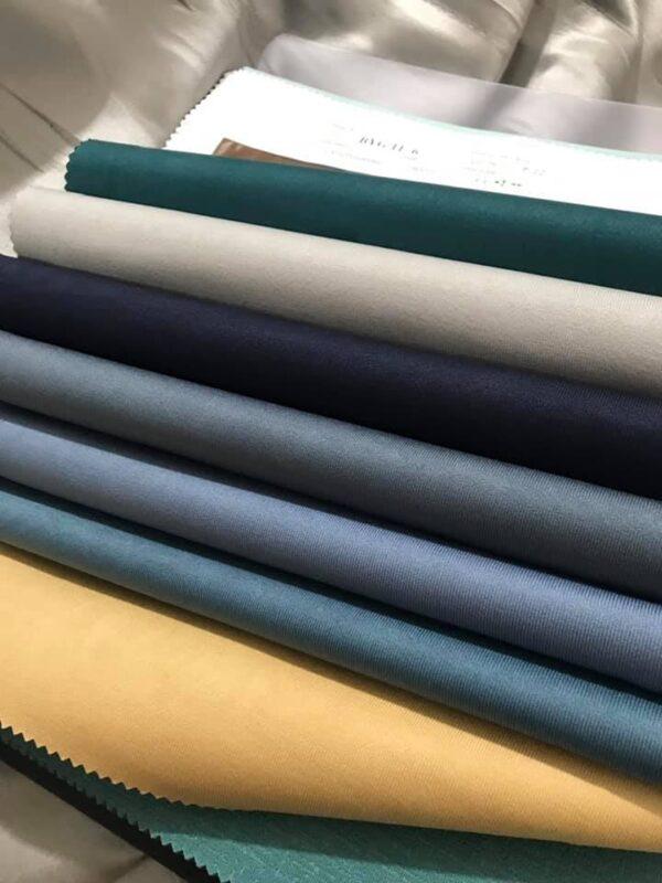 bảng màu rèm vải trơn BYG vol 11