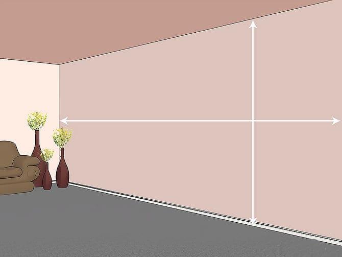 cách đo giấy dán tường