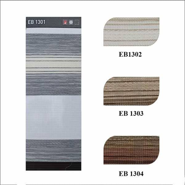 bảng màu rèm cầu vồng ecohome stripe