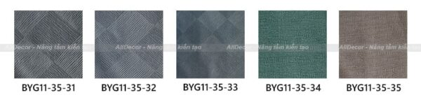 bảng màu rèm vải byg vol11 mã byg11-35