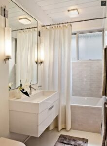 cách chọn rèm phòng tắm