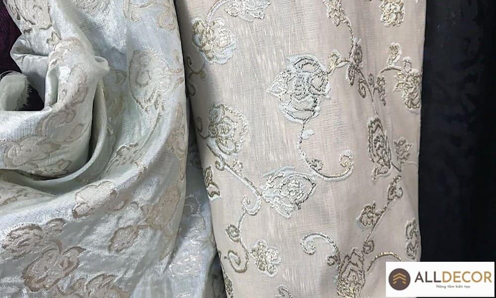 vải gấm may rèm