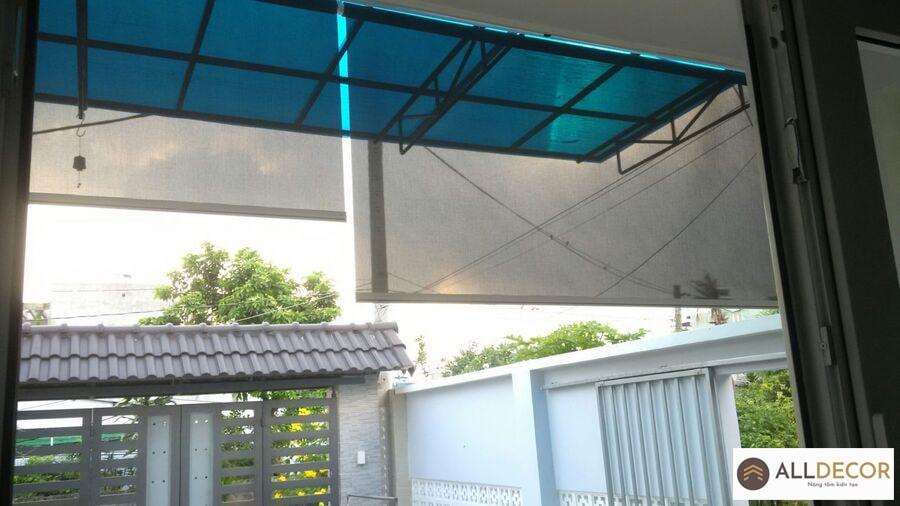 rèm cửa chống nắng ngoài trời